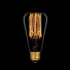 Edison Glühbirne Rustika 60W E27 Vielfachwendel Retro Design wie Kohlefadenlampe