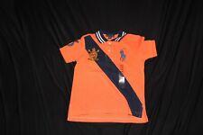 Polo Ralph Lauren Boy's Big Blue Pony #3 Orange Cotton Mesh Polo Shirt 4/4T