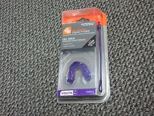 New Shock Doctor Gel Max Convertible Mouthguard Youth Age 10- Purple