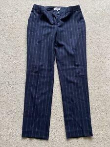 Reiss Size 12 Pinstripe Trousers