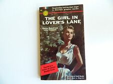 Girl in Lover's Lane by Boswell & Thompson, Gold Medal #334, PBO 1953