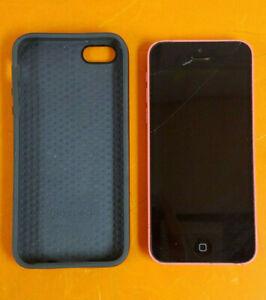 ⭐️⭐️⭐️⭐️⭐️ AT&T Apple iPhone 5c A1532 8GB Blue Clean IMEI **IC LOCKED - AS IS**