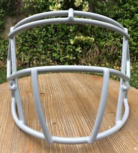 New Riddell Speed Football Helmet  Facemask / Faceguard - Gray