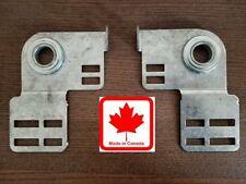 Genuine Garage Door End Bearing Plates (Pair) Made in Canada