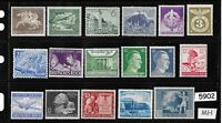 #5902    Mixed MH stamp group / Adolph Hitler / Third Reich Germany Postage