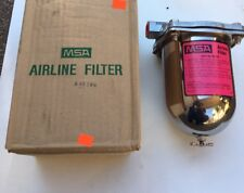 MSA 85759 Airline Vacuum Filter Assembly with 79030 Filter 1/2
