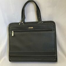 Franklin Covey Faux Leather 3 Ring Planner Binder Portfolio With Handles Zipper