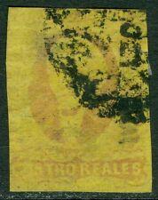 MEXICO : 1861. Scott #9 Used. Tiny thin. Catalog $100.00.