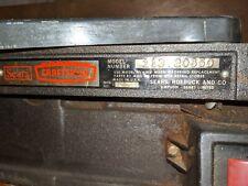 """Craftsman Jointer Planer 6-1/8"""" - Vintage - Model 113.20650"""