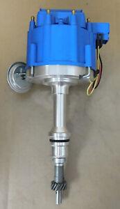 Summit 850021 Blueprinted HEI Distributor, SB Ford 221-302 Mag P/U, Mech/Vac Adv