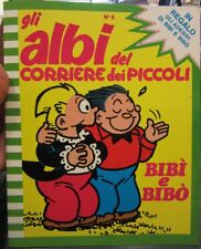 Gli Albi Corriere dei Piccoli N°6 ,1981 in allegato Adesivi Bibi' e Bibò [f20]