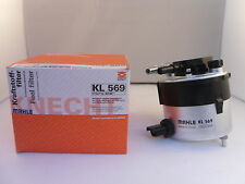 Ford C-Max Fiesta Focus Fusion Fuel Filter 2005-Onwards *GENUINE MAHLE OE KL569*