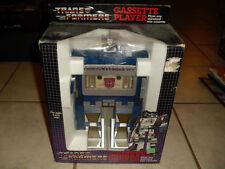 Transformers Sound wave Cassete Player