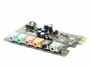 Asus C1BHK0 Supreme FX Audio Sound Card Commando Board Pci-E Soundmax E153302