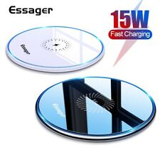 Luxury Qi Fast Wireless Charger Charging Pad For Apple iPhone 12 XS Max Xr X11