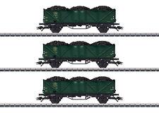 MÄRKLIN 46029 Hochbordwagen-Set der SNCB 3-teilig mit Beladung Kohle #NEU in OVP