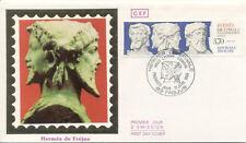 Enveloppe 1er Jour FREJUS 11/06/1988 hermès timbrée