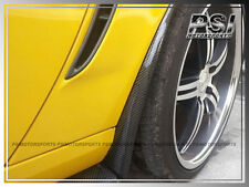 Carbon Fiber Side Skirts Mud Flaps For 2005-2013 Chevrolet Corvette C6 Z06 ZR1