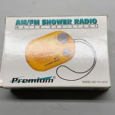 New ListingPremium Am/Fm Shower Radio Yellow