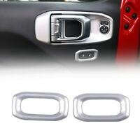 SIL Door Lock Switch Trim Cover For Wrangler JL 2018+
