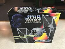 1995 STAR WARS Power of the Force POTF Imperial TIE FIGHTER SEALED BOX MIB