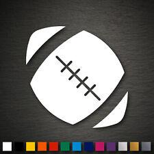 14094 American Football Aufkleber 95x95mm Ball Autoaufkleber KFZ Tuning Tattoo