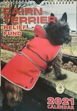 Cairn Terrier Dog Rescue Charity CAIRN TERRIER RELIEF FUND Wall Calendar 2021