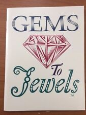 """Gems to Jewels,"" mineral and gemstone booklet"
