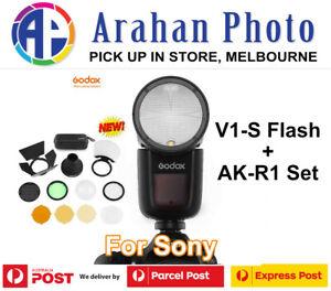 Godox V1 for Sony+ AK-R1 set(Aus ABN Tax Invoice/1yr Warranty)