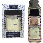 Novelty Warm Knit Heated Hot Water Bottle With Lavender Scent Fragrance Pouch