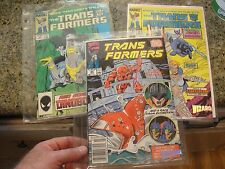 8 9 64 TRANS FORMERS comic book set lot long tooth pincher dinobots transformers