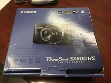 NEW Canon PowerShot SX600 HS 16.0 MP Digital Camera - Red