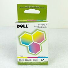 Dell Genuine 7Y745 Color Ink Cartridge A940 and A960 Series 2 New Sealed