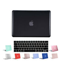 Hard Case Shell Plastic Cover for Macbook Pro 13 inch Laptop+Keyboard Skin Black