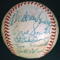 1979 SAN DIEGO PADRES TEAM SIGNED BASEBALL OZZIE SMITH EARLY SIG SPRING TRAINING