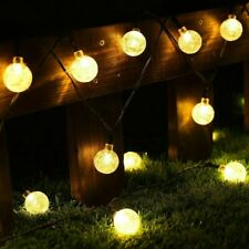 60 LED Ball Solar Party Fairy Outdoor String Lights for Patio & Garden