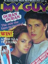 MY GUY MAGAZINE 17/9/83 - DURAN DURAN - NICK HEYWARD