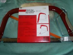 """BOWSAW / PRUNING SAW AND HACKSAW  12"""" 300 MM  MADE IN DENMARK"""