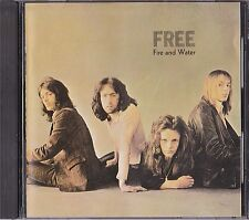 Free Fire And Water Japan 1st CD 1988 P32D 25049 Very Rare