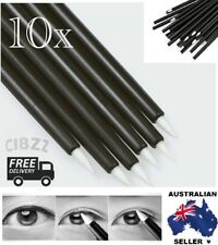 10x Eyeliner Brush Disposable Liner Eye Lip Applicator Makeup Quality Wands Tool