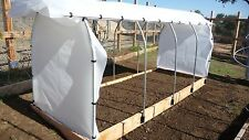 (1) KIT Raised Bed - Box Brackets,clips and screws for PVC hoop grow house