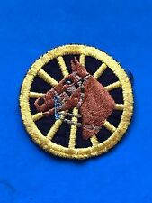 Vintage NYPD Cheese Cloth Horse Head Patch