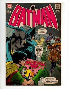 """BATMAN #222 FN/VF 7.0 QUALIFIED """"NEAL ADAMS; BEATLES"""""""