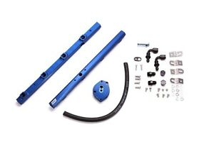 Fuel Injector Rail-High-Flow Billet Aluminum Fuel Rail Kit fits 1999 Mustang V8