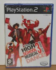 HIGH SCHOOL MUSICAL 3 DANCE GAME SONY PlayStation 2 PS2 - NEW and SEALED
