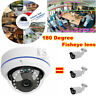 1080P CCTV Security Camera 180 Degree Fisheye wide angle Lens AHD TVI CVI CVBS
