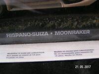 JAMES BOND CARS COLLECTION HISPANO-SUIZA MOONRAKER