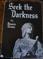 Seek the Darkness QUEEN JUANA of CASTILE Biography AMARIE DENNIS 1953 Signed