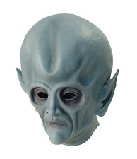 ALIEN SCI FI #overhead GOMMA MASCHERA HALLOWEEN FANCY DRESS Adulto Vestito Accessorio