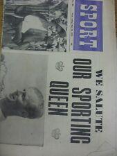 """30/05/1953 GIORNALE Lo Sport: Vol.15, No.281 - """"abbiamo omaggio il nostro Sporting Regina"""" [FRO"""